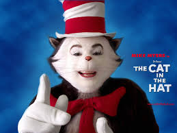 cat in the hat creepy and