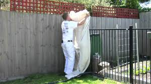 Paint Spot How To Paint A Fence With A Spray Gun Mp4 Youtube
