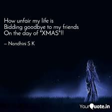 how unfair my life is bi quotes writings by nandhini s k