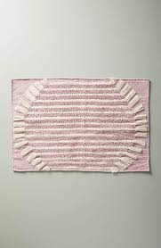 anthropologie brooklyn bath rug size