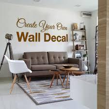 Custom Wall Decal Create Your Own Wall Decal Custom Decal Etsy