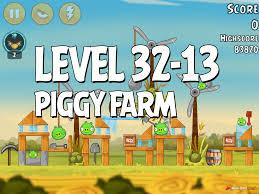 Angry Birds Piggy Farm Level 32-13 Walkthrough