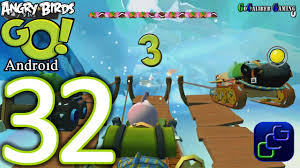 Angry Birds GO Android Walkthrough - Part 32 - Sub Zero: Track 3 ...