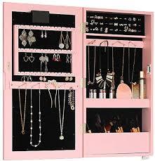 jewelry cabinet vanity mirror bathroom