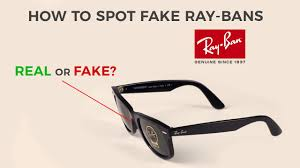 How To Spot Fake Ray Ban Sunglasses 4 Steps To Find Out If Your Pair Is Original Youtube