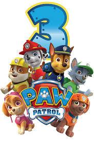 Paw Patrol Birthday Shirt 3 Png 2 362 3 543 Pixel Invitacion