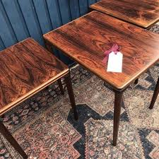 mid century nesting tables side tables