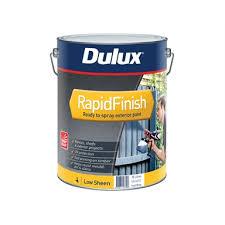 Dulux 10l Rapid Finish Low Sheen White Exterior Paint Bunnings Warehouse