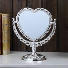 shaving mirror heart shaped bath