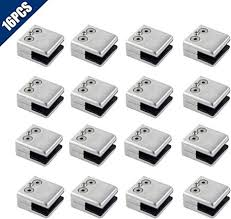 comidox 16pcs stainless steel square