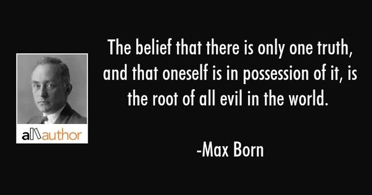 Max Born Quotes