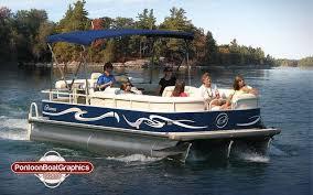 Pontoon Boat Graphics Boat Striping Vinyl Decalsjpg Pontoon Pontoon Boat Boat