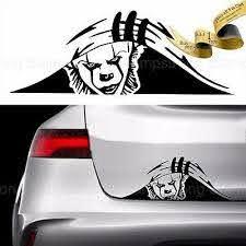 Details About Pennywise It Trunk Peek Vinyl Decal Sticker Car Jdm Misfits Monster Clown Nin In 2020 Vinyl Aufkleber Lustige Autoaufkleber Aufkleber