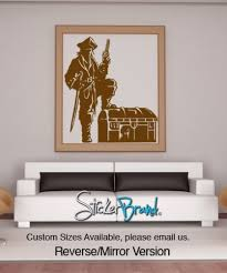 Vinyl Wall Decal Sticker Pirate With Treasure Chest Gfoster143s Stickerbrand On Artfire