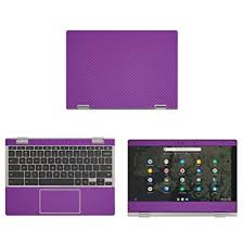 Decalrus Protective Decal For Lenovo Chromebook C340 11 11 6 Screen Laptop Purple Carbon Fiber Skin Case Cover Wrap Cflenovochrmbk11 C340purple Buy Products Online With Ubuy Maldives In Affordable Prices B082p7grks