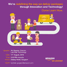 Come join our talk by Avi Saxena,... - Inside Amazon India | Facebook