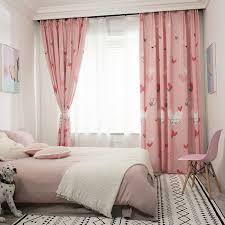 Kids Curtains For Girls Hello Kitty Pink Drapes Children Bedroom Window Panels For Sale Online Ebay