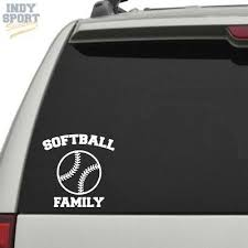 Car Truck Graphics Decals Auto Parts And Vehicles Personalized Softball Decal D Custom Vinyl Graphic Bumper Sticker Car Window Megeriancarpet Am