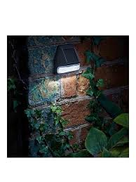 Smart Solar Fence Wall And Post Light 4 Pack Very Co Uk
