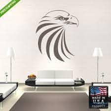 Amazon Com Eagle Wall Decal Bird Wall Decal Bird Sticker Bald Eagle Wall Decal American Eagle Wall Decal Beagle Wall Decal Z183 Handmade