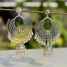 fashion jewelry indian oxidized colored