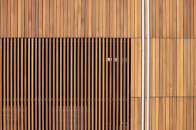 timber battens timber slats wooden facade