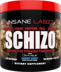 schizo caffeine free preworkout by