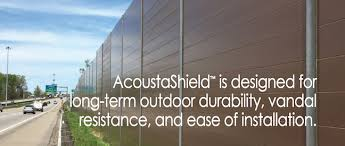 Carsonite Acoustashield Sound Barrier Systems