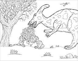 Tranh tô màu khủng long