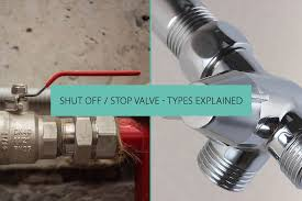 know types of shut off stop valve
