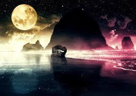 صور للقمر إقرأ خلفيات القمر والبحر خلفيات قمر للايفون خلفيات