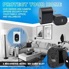 El 723a Spy Camera Usb Phone Charger By Elleety 1080p Hd Hidden Camera Wall Plug Usb
