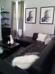 black leather chesterfield sofa with