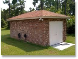 detached buildings garages 3d