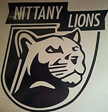 Amazon Com Tdt Printing Custom Decals Penn State Nittany Lions Vinyl Decal Sticker For Car Or Truck Windows Laptops Etc Automotive