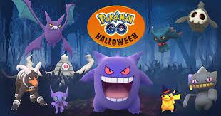 Pokémon GO Halloween 2017   Pokemon tipo fantasma, Pokemon go ...