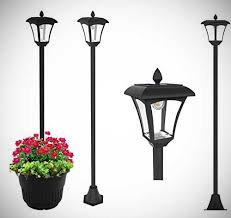 solar lamp posts every solar thing