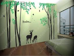 Forest Decals Room Decor Wall Stickers Kids Wall By Naturewall Vinyl Tree Wall Decal Forest Wall Decals Wall Stickers Room