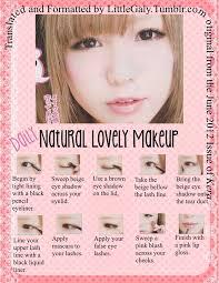 natural anime eyes makeup saubhaya makeup