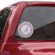 Alabama Crimson Tide Large Perforated Window Decal Unique Alabama Stuff