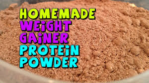 homemade weight gainer protein powder