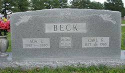 Ada Beck (1885-1980) - Find A Grave Memorial