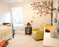 Large Corner Tree Wall Sticker With Leaves Elephants Cute Vinyl Wall Walldecaldesigns