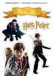 Harry Potter Toppers Para Tartas Tortas Pasteles Bizcochos O