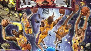 71 nba cartoon wallpapers on wallpaperplay