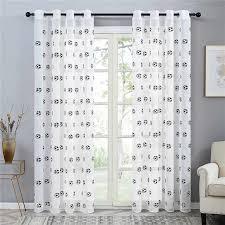 Topfinel Embroidered Football Sheer Curtains For Living Room Bedroom Children Kids Room Tulle Window Curtains Yarn Drapes Curtains For Sheer Curtainstulle Window Curtain Aliexpress
