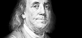 Image result for images of benjamin Franklin and an apple