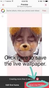 bts live wallpaper iphone