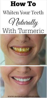 turmeric teeth whitening at home