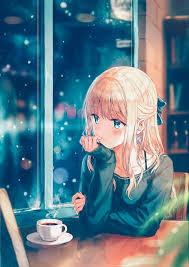 long hair blonde anime anime s